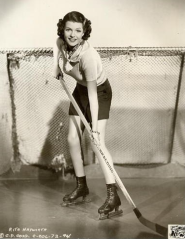 Rita Hayworth Promo Photo for The Game That Kills 1937