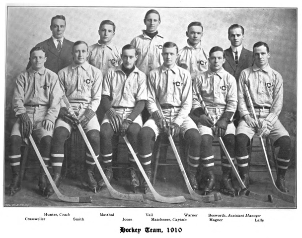 Cornell University Hockey Team, 1909–10