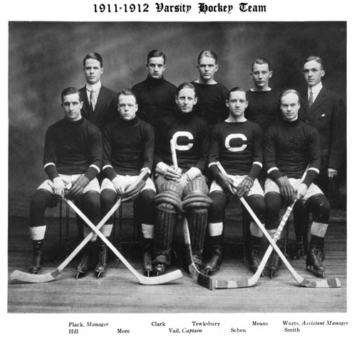 Cornell University Hockey Team, 1911–12