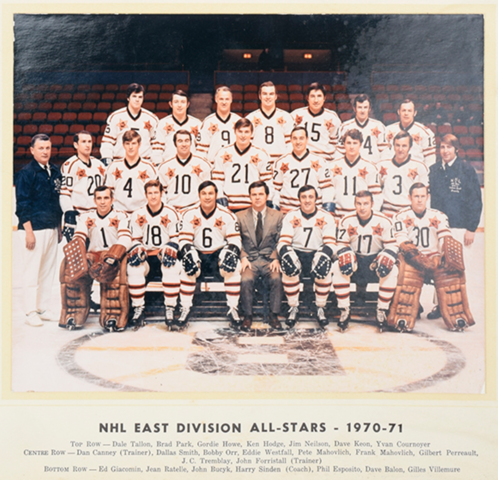 1971 NHL All-Star Game East Division All-Stars