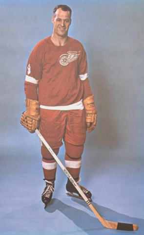 Gordie Howe Detroit Red Wings 1965