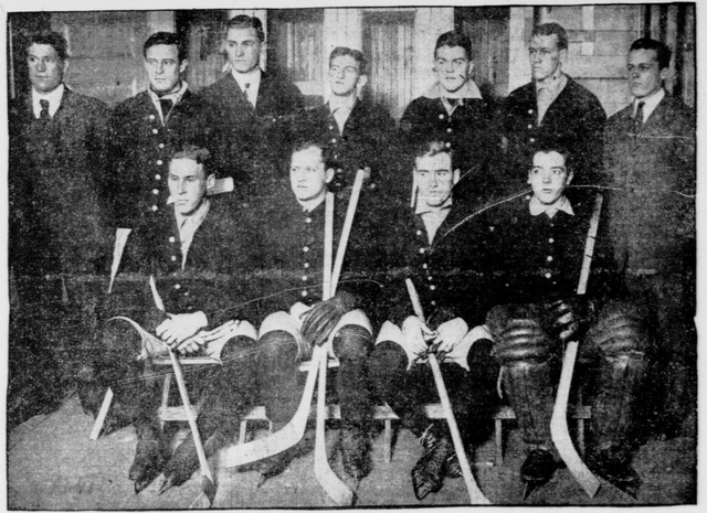 Princeton University Hockey Team 1907