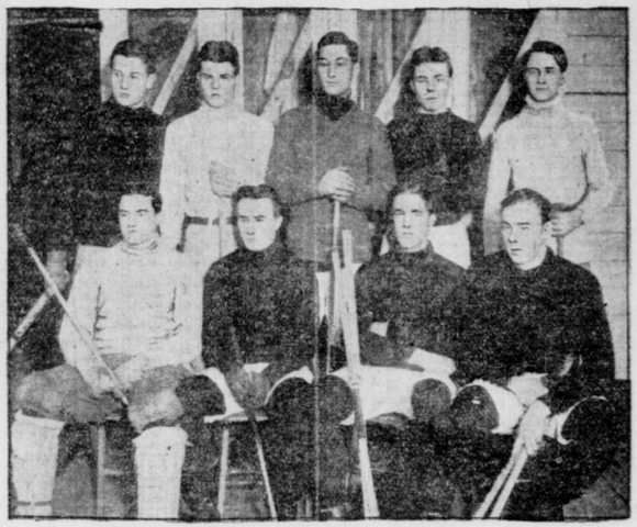 Harvard University Hockey Team 1905