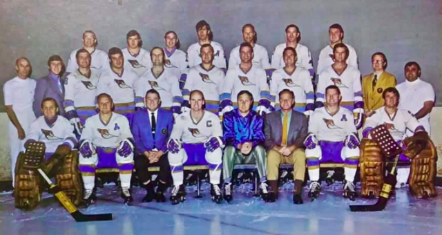 Phoenix Roadrunners  Western Hockey League 1970-71