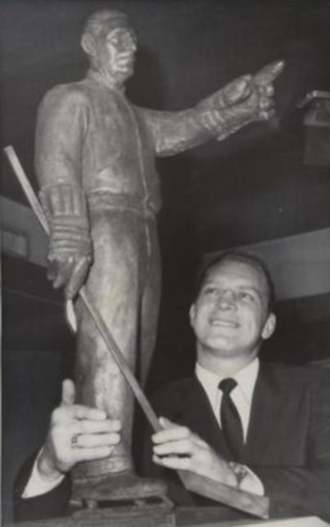 Bobby Hull received the Lester Patrick Trophy on February 18, 1969