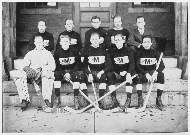 University of Massachusetts at Amherst Hockey Team 1912