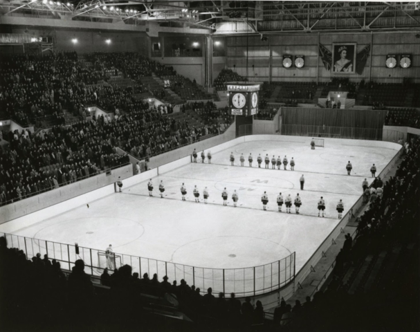 Winnipeg Arena - Opening Night October 18, 1955 Winnipeg Warriors vs Calgary