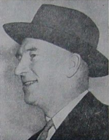 Coleman E. Hall / Coley Hall - Vancouver Canucks Manager & Owner 1947