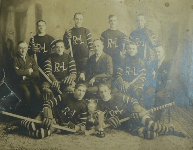 Rivière-du-Loup City League Champions 1930 Champion de la Ligue de la Cite