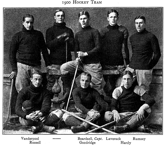 Harvard University Hockey Team 1900