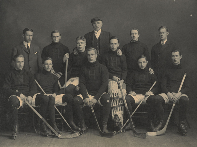 Harvard University Hockey Team 1905–06
