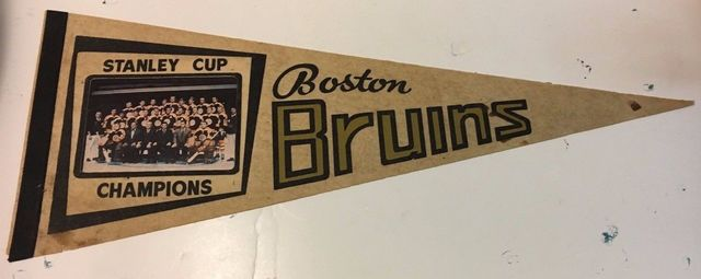 Boston Bruins 1970 Stanley Cup Champions Photo Pennant