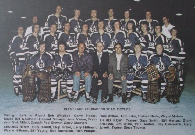 Cleveland Crusaders Team Photo 1973