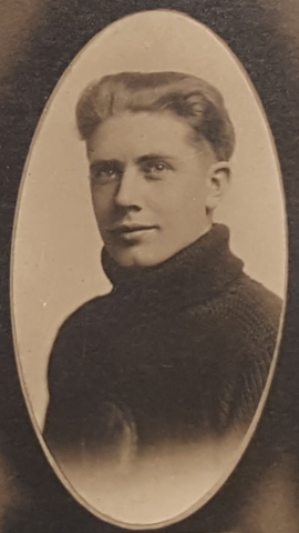 Magnus Goodman Young Men's Lutheran Church Hockey Club 1918 Mike Goodman