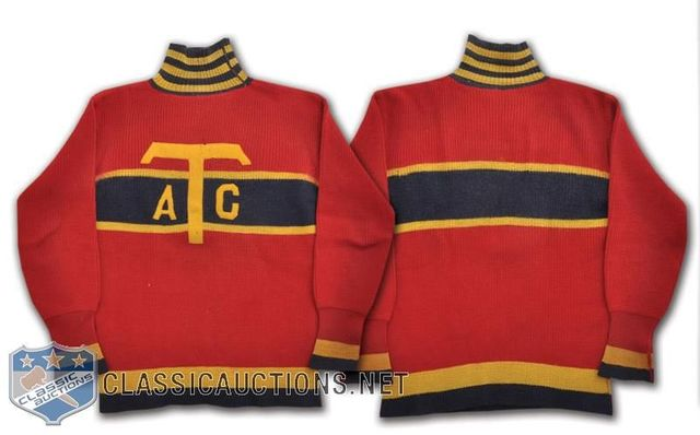 Towers Athletic Club Hockey Jersey worn by Eric Brolin in 1925-26