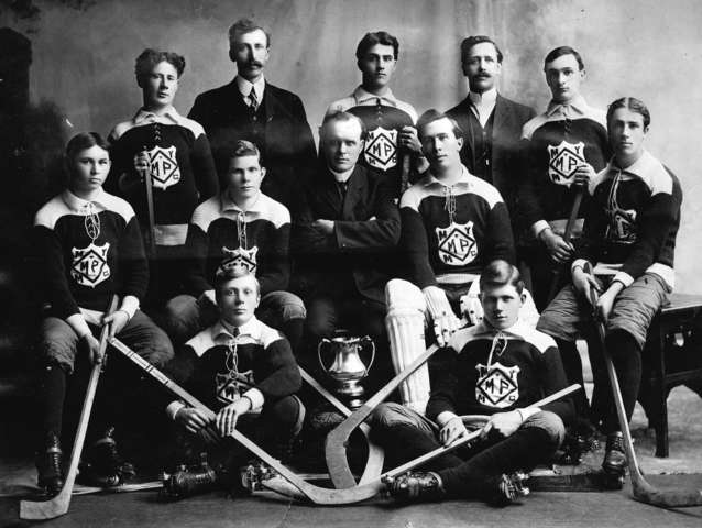 Mount Pleasant Methodist Young Men's Club Roller Hockey Team 1908