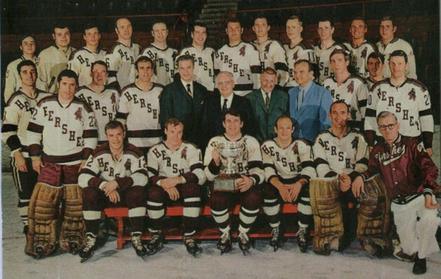 Hershey Bears American Hockey League Champions 1969 Calder Cup Champions