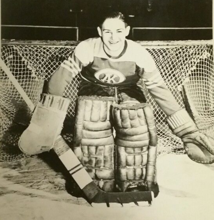 Terry Sawchuk Omaha Knights 1947 United States Hockey League
