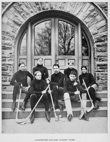 Haverford College Hockey Team 1897–98