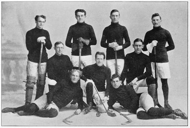 Springfield College Hockey Team 1905–06