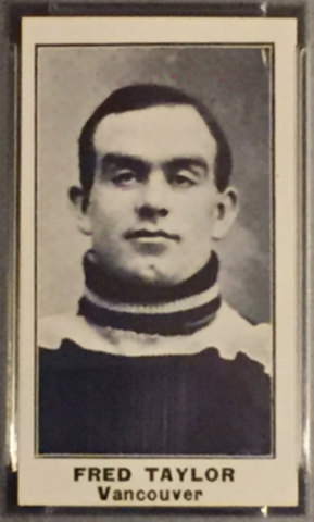 Fred Taylor Hockey Card 1912 C57 No. 43 Vancouver Millionaires