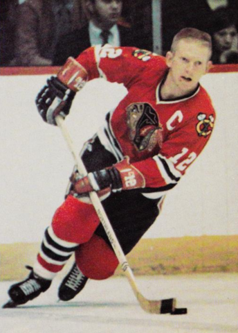 Pat Stapleton Chicago Blackhawks 1971