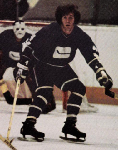 Barry Wilkins Vancouver Canucks 1971