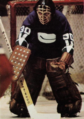 Dunc Wilson Vancouver Canucks 1971