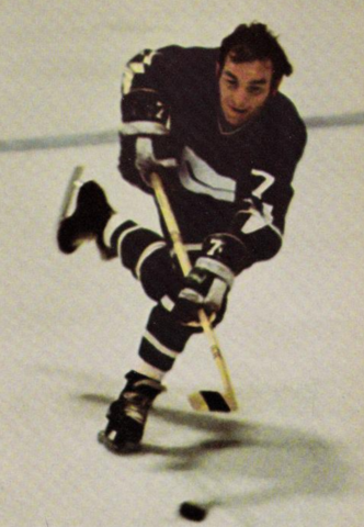André Boudrias Vancouver Canucks 1971