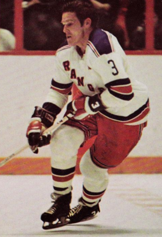 Tim Horton New York Rangers 1971
