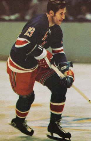 Jean Ratelle New York Rangers 1971