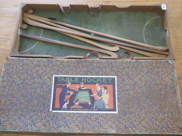 Antique Table Hockey Game 1929 made by G. J. Hayter and Co