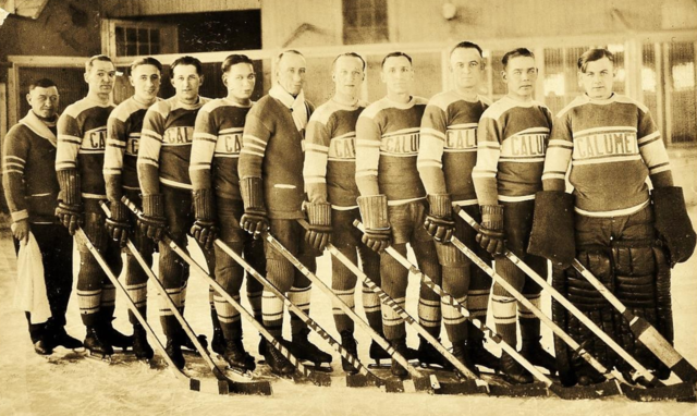 Calumet Hockey Team 1917