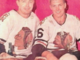 Glenn Hall & Bobby Hull 1960 Chicago Black Hawks