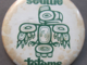 Seattle Totems Hockey Team Pinback Button