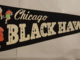 Chicago Black Hawks Pennant 1960s