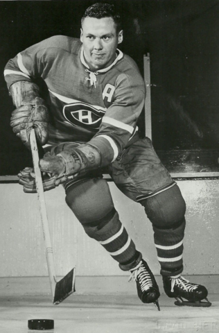 Tom Johnson Montreal Canadiens 1961