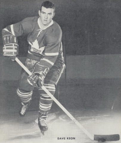 Dave Keon Toronto Maple Leafs 1961