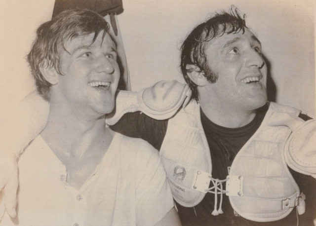 Bobby Orr & Phil Esposito Boston Bruins 1970