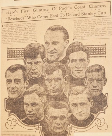 Portland Rosebuds Team Photo 1916