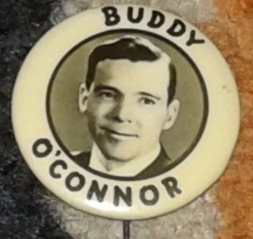 Buddy O'Connor Pin-back Button
