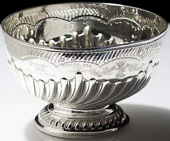 The Original Stanley Cup - The Dominion Hockey Challenge Cup