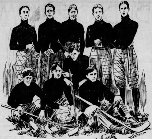 Pittsburgh High School Hockey Team 1898–1899