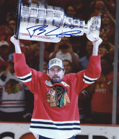 Patrick Sharp with The Stanley Cup 2015