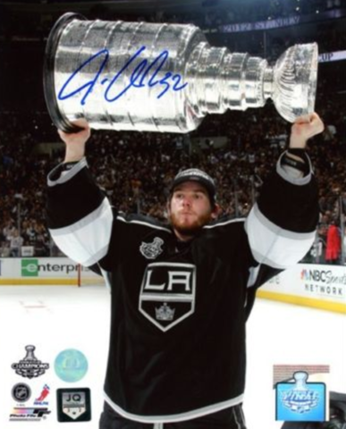 Jonathan Quick with The Stanley Cup 2012