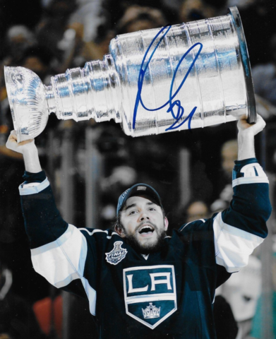 Alec Martinez with The Stanley Cup 2012