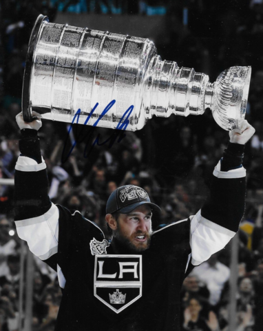 Jeff Carter with The Stanley Cup 2014