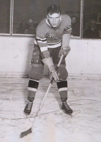 Alex Shibicky New York Rangers 1936