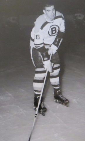 Ed Westfall Boston Bruins 1961