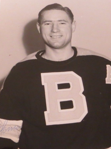 Fernie Flaman Boston Bruins 1954
